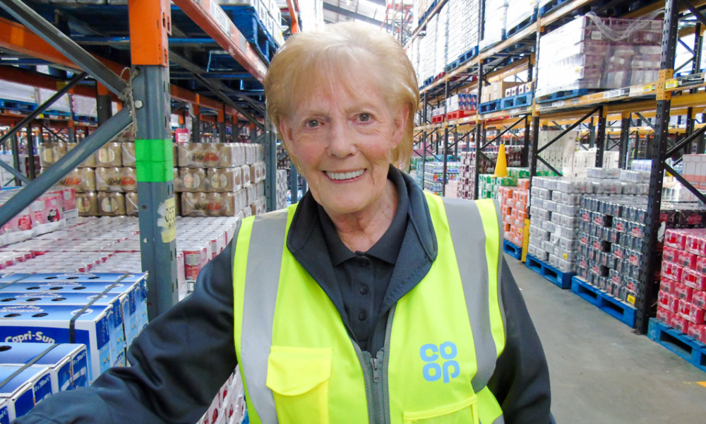 Meet Barbara French – winner of the Logistics Colleague of the Year Award