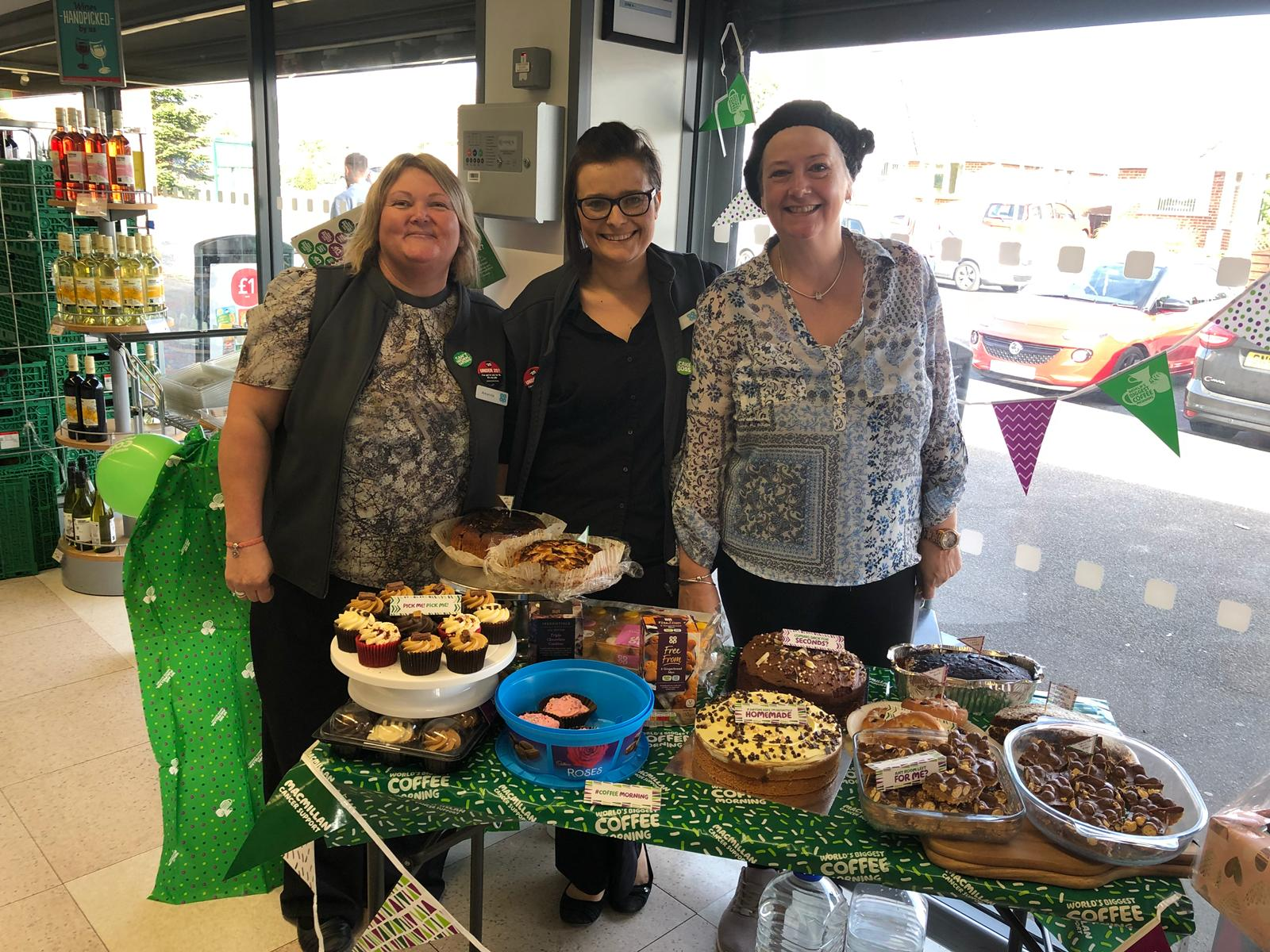 Bearstead Store Team raise £250 for Macmillan