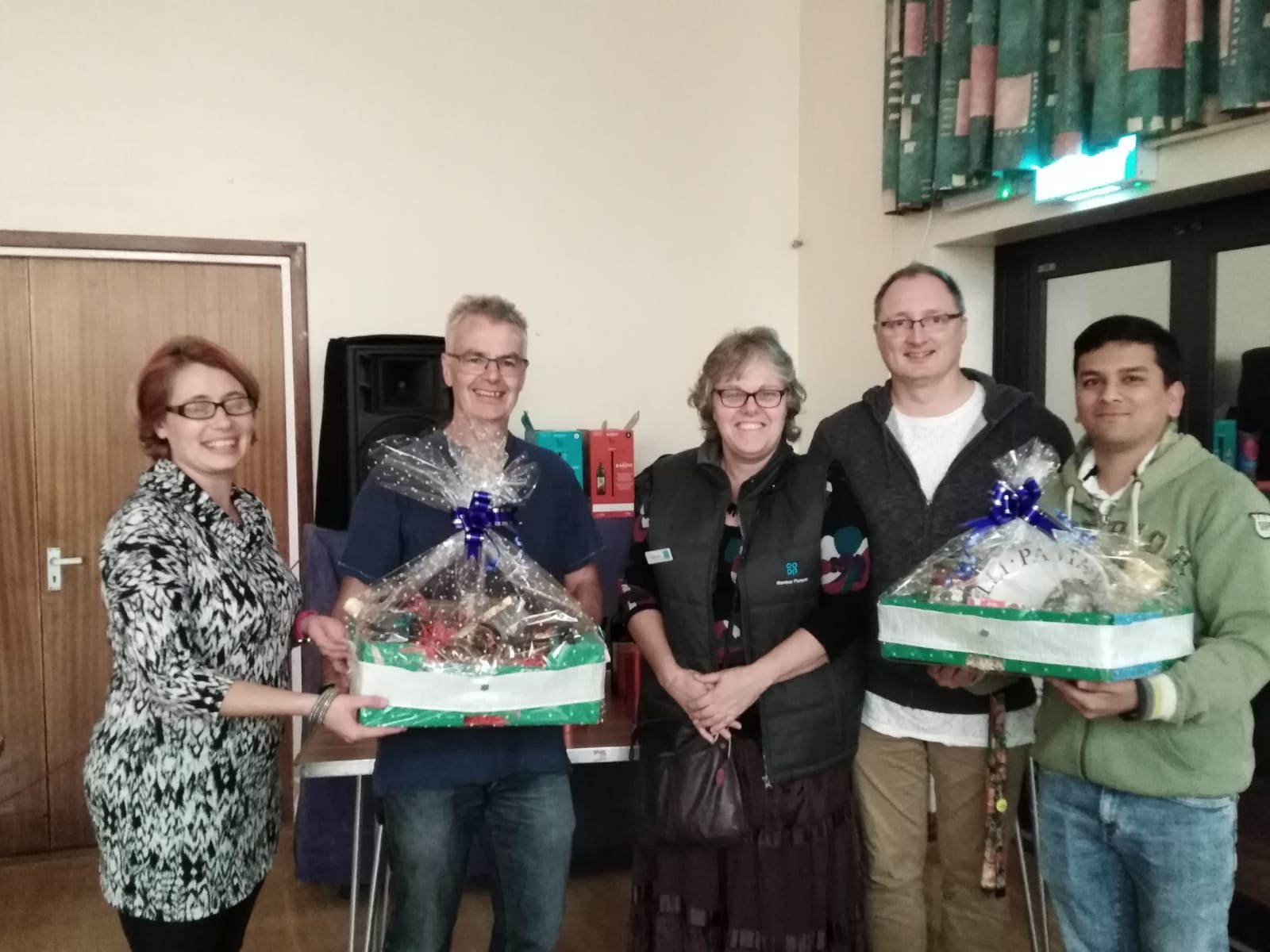 Colleagues pull together to support local children in community